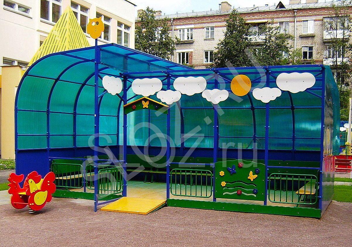 Оформление веранд детских садов своими руками