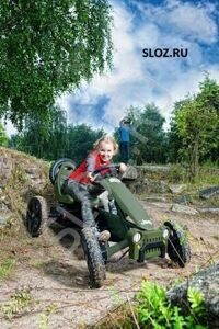 Jeep Adventure Pedal go-kart + child (1)